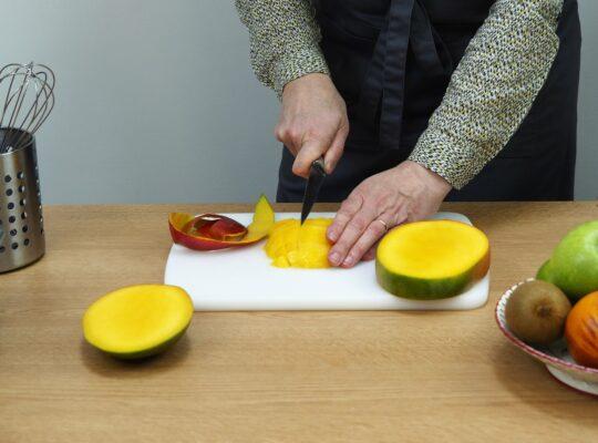 2 - Préparez les fruits