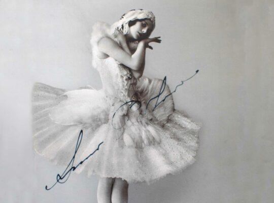 La ballerine Russe Anna Pavlova